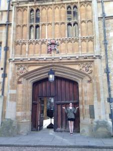 door to brasenose